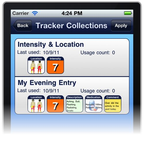 Tracker Collection Templates
