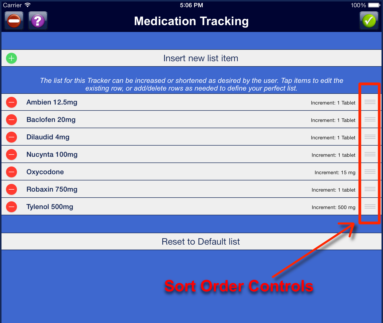 scrnMedicationTrackerListSortOrderControls